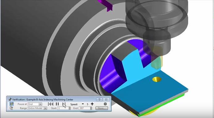 Program CAM Advanced Turning toczenie z napędzanymi narzędziami
