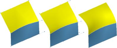 Gładkie łączenie powierzchni