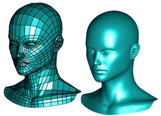 Model siatki mesh zamieniony na Bryłę