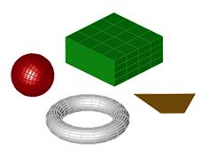 Modelowanie organiczne podstawowe polecenia w  projektowaniu postaci, rzeźb, czy mebli.