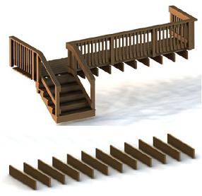 Podział elementów z modelu 3D na poszczególne warstwy.