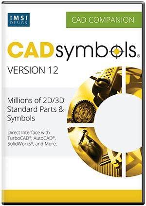 Biblioteka modeli CAD z ponad 30 milionami symboli płaskich i przestrzennych.