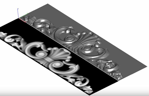 Zamiana zdjęcia na model przestrzenny CAD