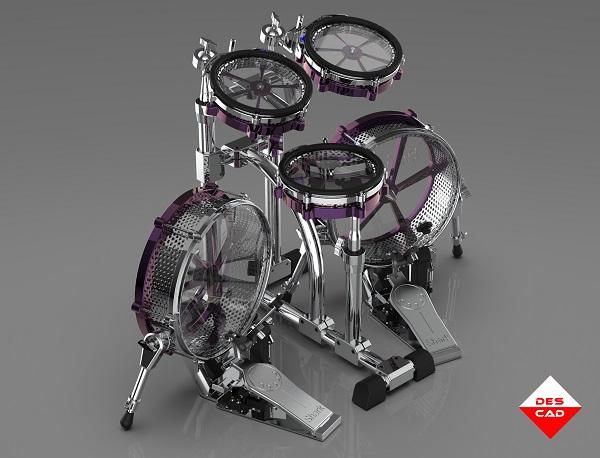 Pracowania projektowa przedstawia model perkusji