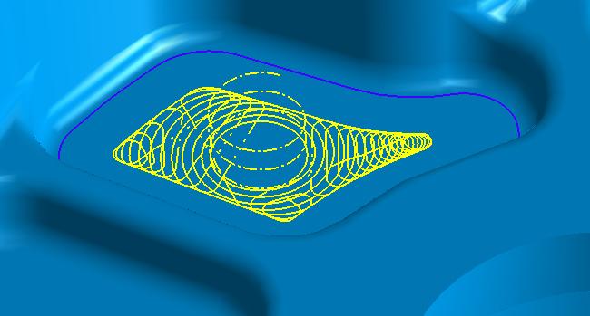 Kieszeń ze spiralą w HSM Adaptive