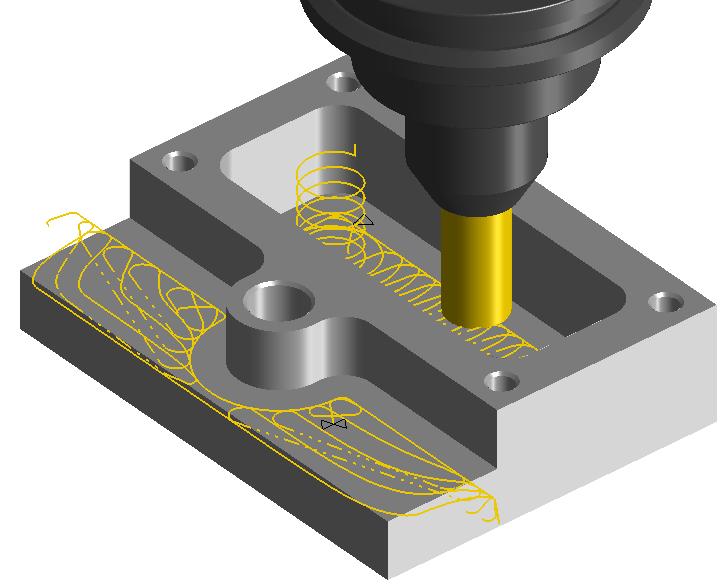 Obróbka 3D Adaptive HSM z modelu 3D