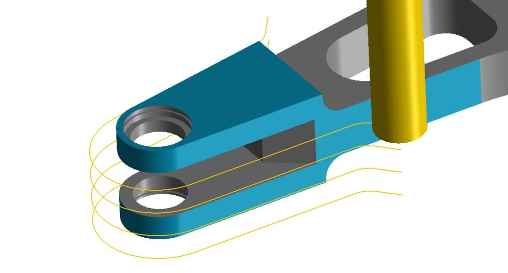 Frezowanie 3D klasyczny profil w programie CAM