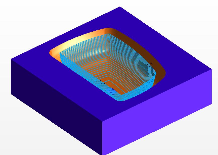 Frezowanie 3D kontury