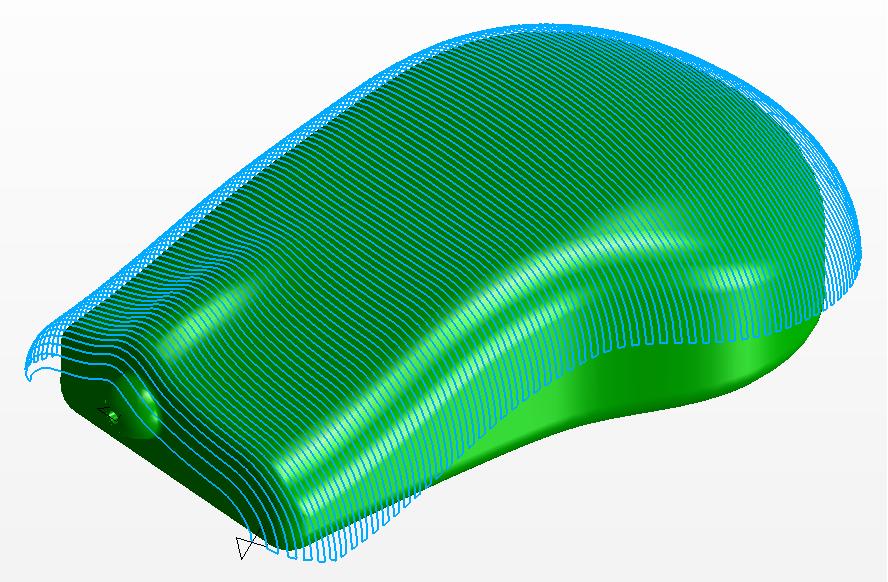 Frezowanie 3D proces równoległy
