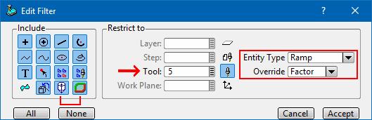 Wybór elementów z okna graficznego