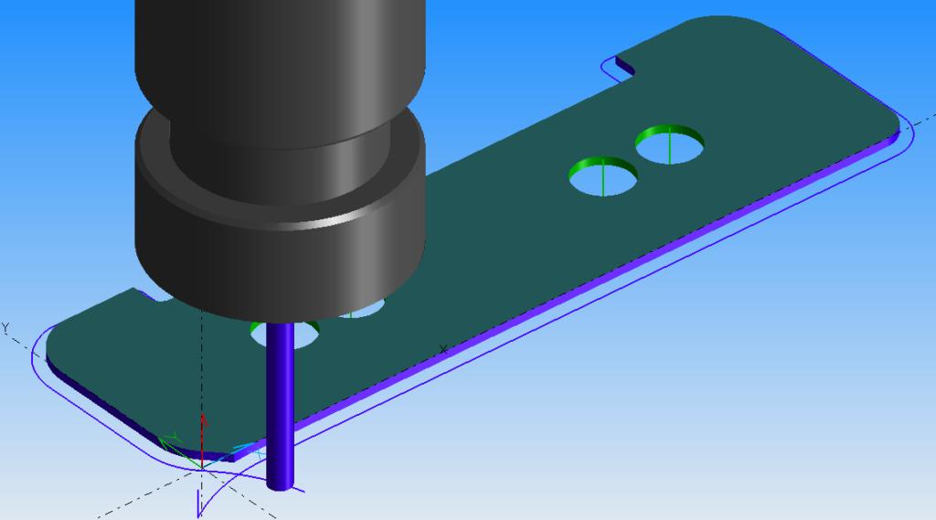 Samouczek frezowania płaskownika kształtowego