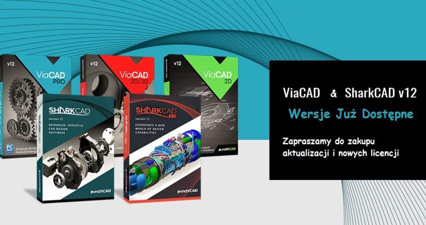 ViaCAD i SharkCAD v12