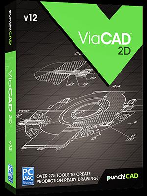 Polska wersja programu do tworzenia dokumentacji 2D z  Viacad2d v12