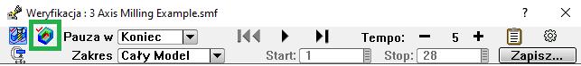Wykrywanie kolizji i symulacja G-kodu w programie CAM