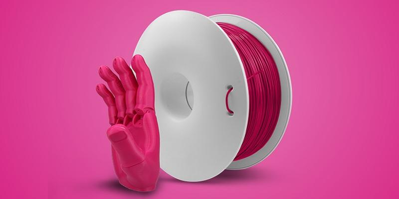 FIBERFLEX 30D filament polskiego producenta Fiberlogy. Jest to elastyczny filament.