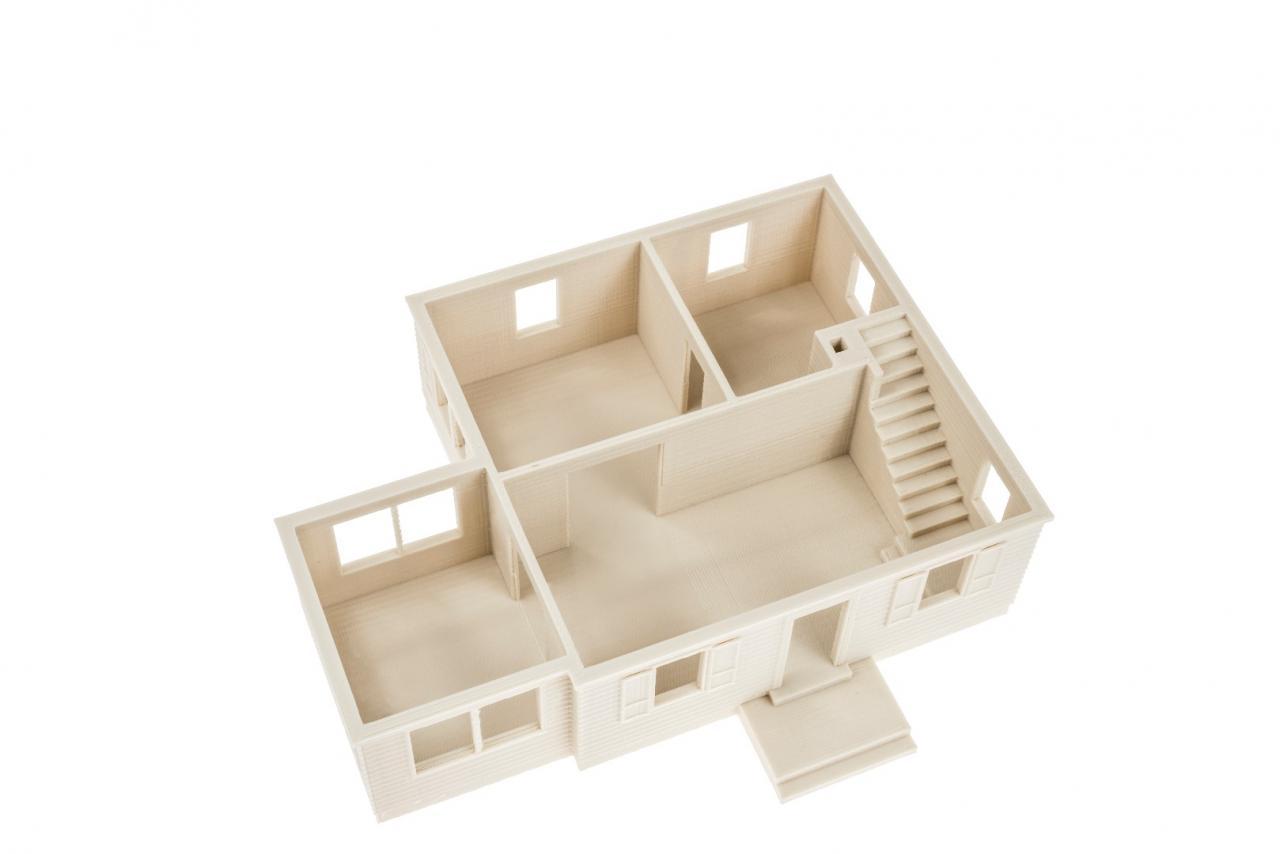 Filament FIBREFLEX dla druku 3D model domu