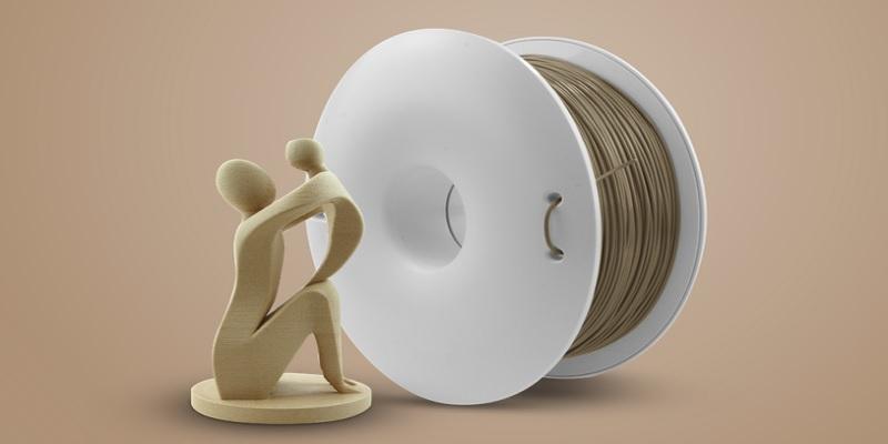 Drewnopodobny FIBERWOOD filament polskiego producenta Fiberlogy