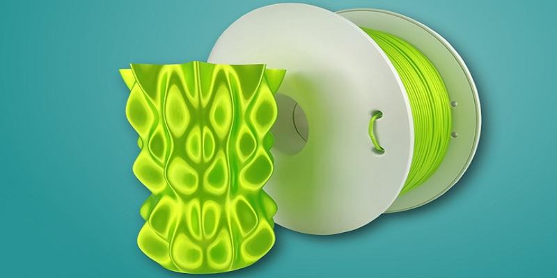 Metaliczny efekt z FiberSilk filament polskiego producenta Fiberlogy