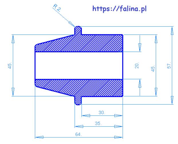 Wymiarowanie w programie CAD