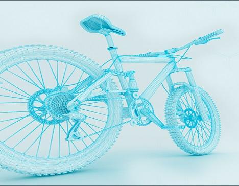 Modelowanie roweru w programie 3D cad