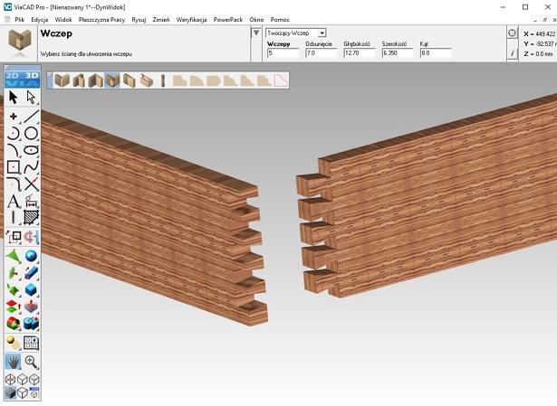 Modelowanie 3D mebli w programie CAD