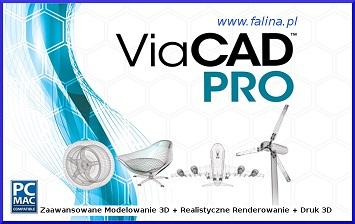 Program CAD - ViaCAD Pro PL jaki program CAD do zaawansowanego modelowania płaskiego i przestrzennego
