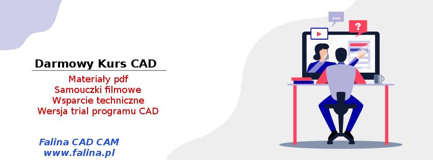 Darmowy kurs CAD - bezpłatne szkolenia CAD