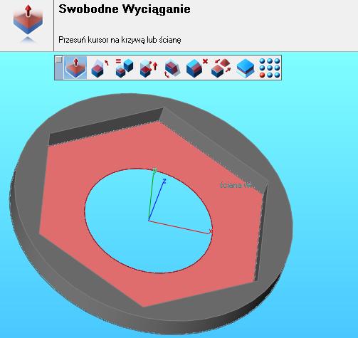 Polecenie do swobodnej zamiany krzywych 2D na modele 3D