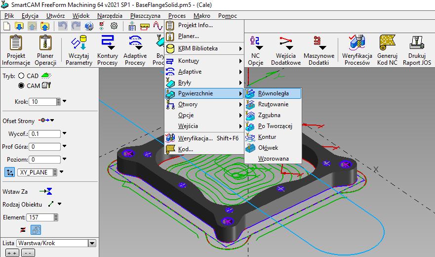 Programowanie CAM CNC bezplatny kurs szkoleniowy