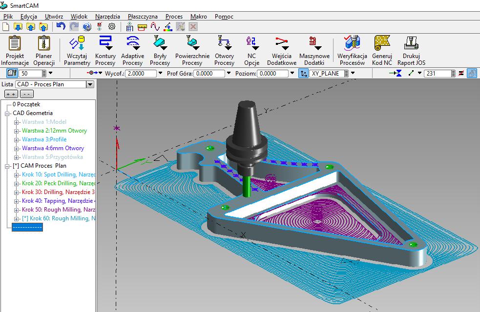 Nauka CAM jak rozpocząć pracę w środowisku CAM CAD?